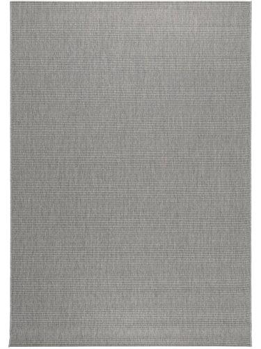 benuta In- & Outdoor Teppich Metro Sisal Optik Hellgrau 160x230 cm | Pflegeleichter Teppich geeignet für Innen- und Außenbreich, Balkon und Terrasse