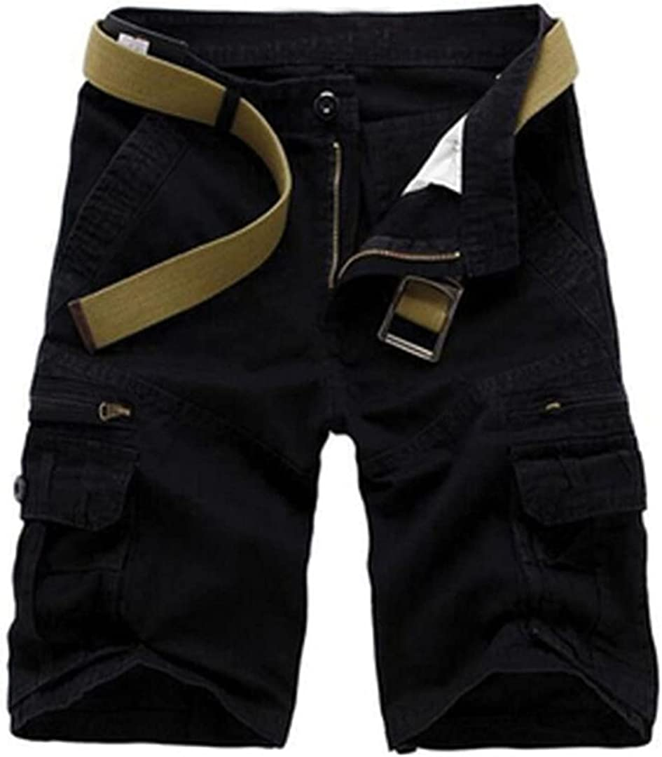 Pokem&Hent Summer Shorts Men's Camouflage Loose Pants Military Tactical Overalls Shorts
