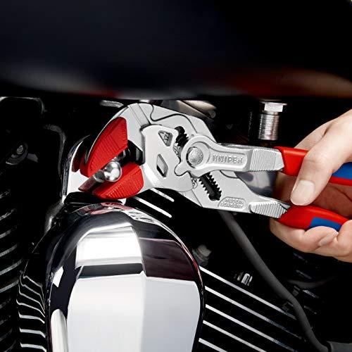 Knipex Zangenschlüssel – Greifzange und Schraubenschlüssel, 250 mm, Greifweite bis 46 mm - 7