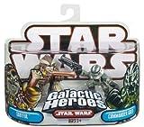 Star Wars Clone Wars Héroes Galácticos Tarfful y Comandante Gree