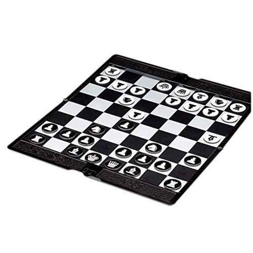 LF winkels Schaken Kwaliteit Super Dunne Board Game Net als Portemonnee Magnetische Internationale Dammen Schaken Draagbare Opvouwen Tiener Schaakset Game Board Games