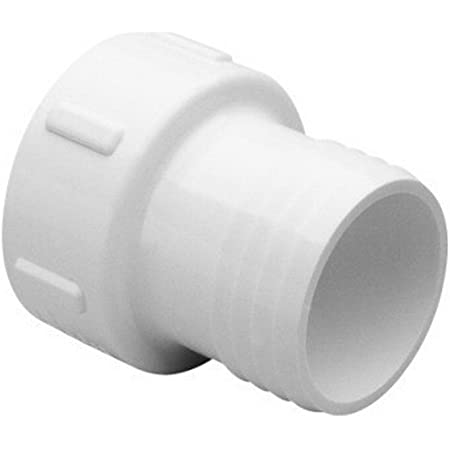 Schedule 40 PVC Elbow Insert Adapters 1//2 MPT x 1 Hose Barb