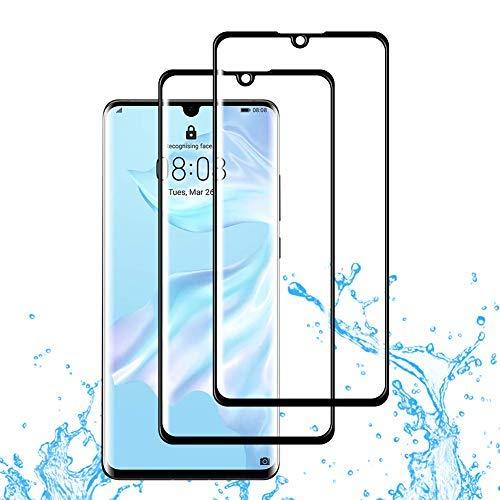 xinyunew [2 Piezas] Protector Pantalla Samsung Galaxy S7 Edge,Premium Importaciones japonesas [2.5D Borde Redondo] [9H Dureza] [Alta Definicion] Cristal Vidrio Templado Protector de Pantalla