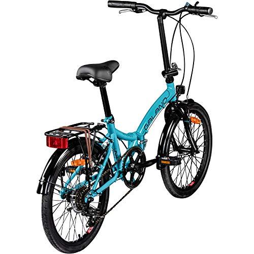 Galano Klapprad 20 Zoll Fahrrad Faltrad Metropolis Campingrad Citybike - 3