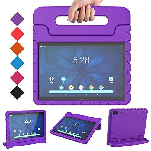 BMOUO Kids Case for Walmart Onn 10.1 Tablet, Walamrt Onn 10.1 Tablet Case for Kids, Shockproof Light...