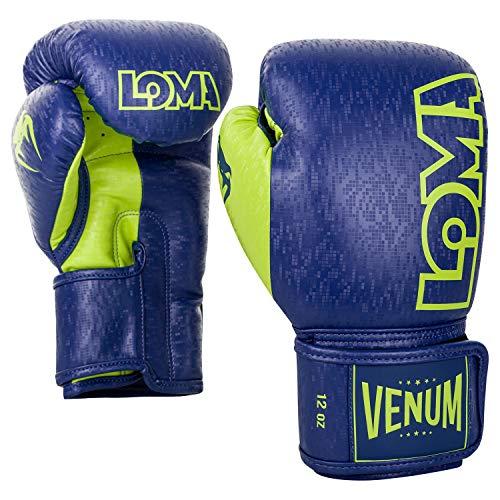 Venum Origins Boxing Gloves Loma Edition - 12 Oz, Blue/Yellow