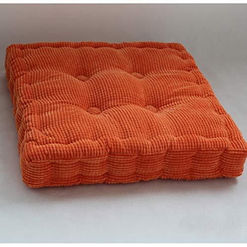 TPJJ No-Slip Breathable Back Cushion Set,Almohadilla De Silla Gruesa Cuadrada,Garden Outdoor Seat Pad B 40x40cm (16x16inch)