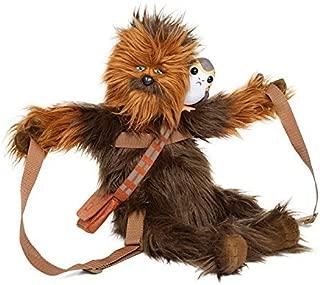 Star Wars Chewbacca with Porg Back Buddy Star Wars Chuubakka Pogue stuffed rucksack backpack bag