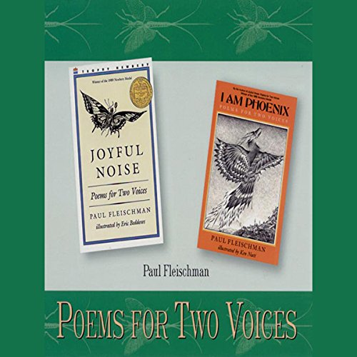 Poems for Two Voices audiobook cover art