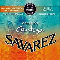 サバレス クラシックギター弦 クリエイション カンティーガ SAVAREZ CREATION Cantiga Classic Guitar Strings (510MRJ Mix Tention ミックステンション, 1セット)