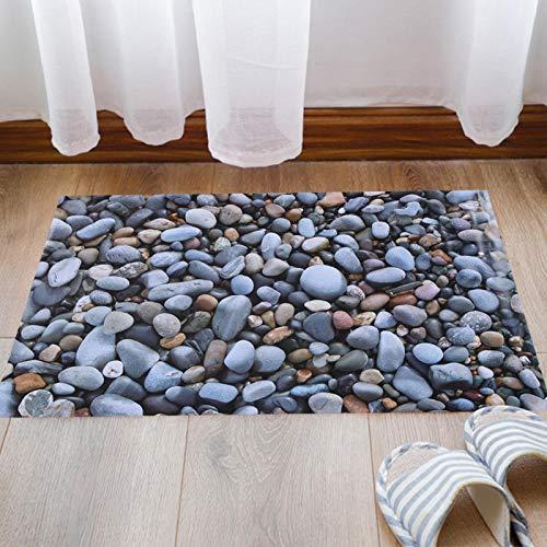 Emoshayoga Adhesivo de Piso Autoadhesivo extraíble para la decoración del Pasillo del baño de la Sala de Estar del hogar