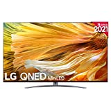 LG QNED 75QNED916PA 2021 - Smart TV 4K UHD 189 cm (75') con Inteligencia Artificial, Procesador Inteligente α7 Gen4, Deep Learning, 100% HDR, Dolby ATMOS, HDMI 2.1, USB 2.0, Bluetooth 5.0, WiFi