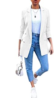 Howely Women's Slim Business Parka Fashion Overcoat Trench Jacket