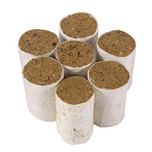 SALUTUYA Kill Mites of Hives, 54 Piezas de Combustible sólido para ahumadores de Abejas, generador de Humo para granjeros de Abejas, el magnífico ahumador de Abejas, pellets