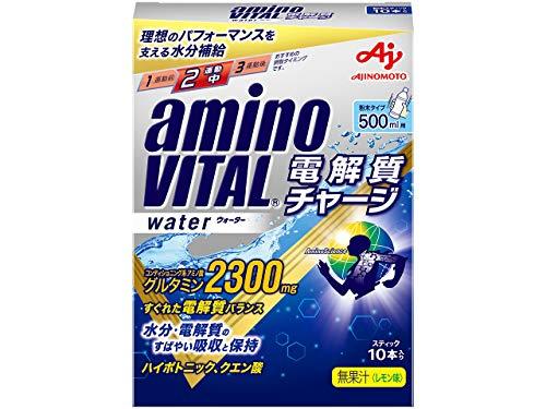 味の素 「アミノバイタル®電解質チャージ」ウォーター 10本入箱