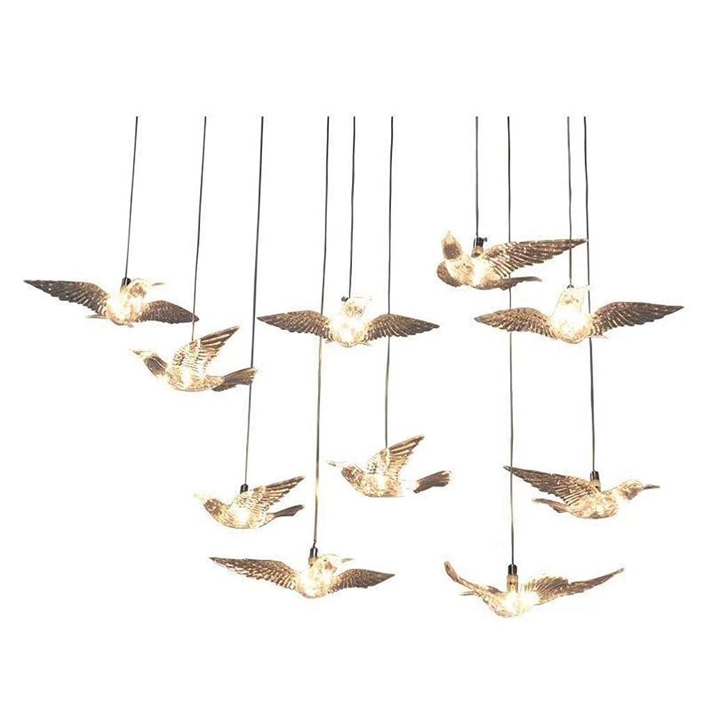 新しい意味サスペンド熟す結婚式の小道具透明飛鳥ラッキーバードシャンデリアウェディングステージ会場レイアウト装飾ライト
