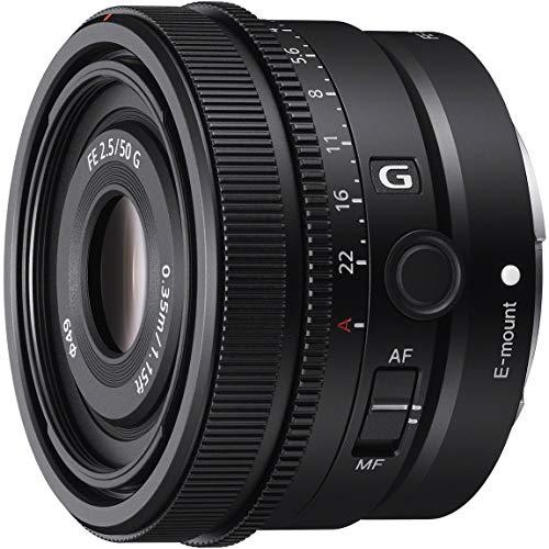 ソニー フルサイズ対応単焦点レンズ SEL50F25G FE 50mm F2.5 G