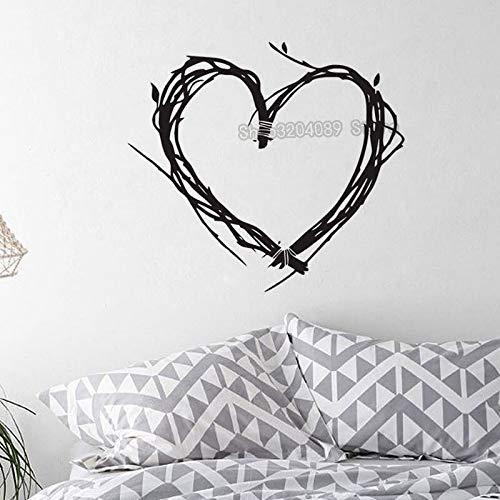 mlpnko Wandaufkleber Wohnkultur Wohnzimmer dekorieren abnehmbare Vinyl-Aufkleber für Kinder Schlafzimmer69X63cm