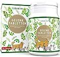 Furanima Gelenktabletten für Hunde - 120 Tabletten mit Grünlippmuschel, MSM, Teufelskralle, Bierhefe und Glucosamin - Geeignet für alle Rassen - Geprüfte Qualität Made in Germany