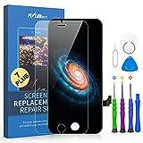 FLYLINKTECH Pantalla Táctil LCD Reemplazo para iPhone 7 Plus Negro 5.5' Contiene Herramientas +...