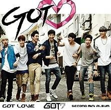 GOT7 Got Love Mini Album Vol. 2 [+ GOT7 poster(30cmx42cm)][+ GOT7 autograph photo][+ GOT7 member photo 7pcs+ all member photo 1pcs][+ GOT7 postcard(10cmx15cm)]