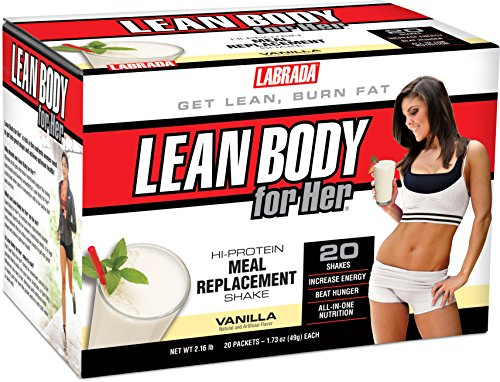 Labrada Nutrition Lean Body for Her Mrp Soft, Vanilla Ice Cream,...