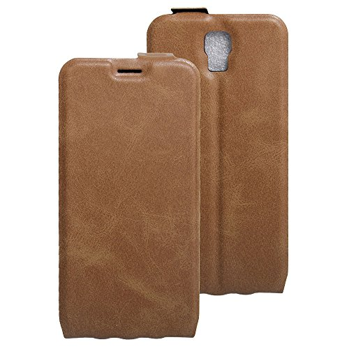 Litao-Case CN Hülle für UMI Rome X hülle Flip Leder + TPU Silikon Fixierh Schutzhülle Case 2