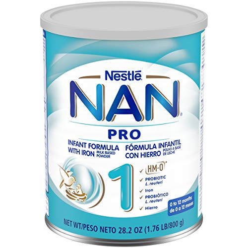 Nestle Nan 1 Pro Infant Formula Powder, 28.2 Oz