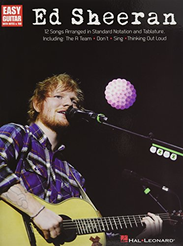 Ed Sheeran For Easy Guitar -Guitar- (Book): Noten für Gitarre: Easy Guitar with Notes & Tab (Easy Guitar Play Along)