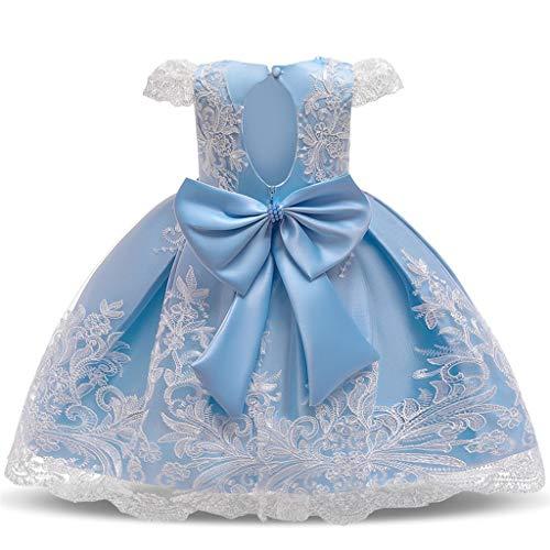 Elsta Mädchen Kleid Süß Spitze Stickerei Prinzessin Kleid Vintage Abendkleid Ballkleid Partykleider Kleider Kleid Casual Kleider, Karneval Cosplay Party Halloween Festkleid