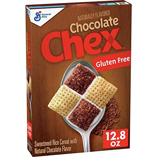Chocolate Chex Breakfast Cereal, Gluten Free, 12.8 oz