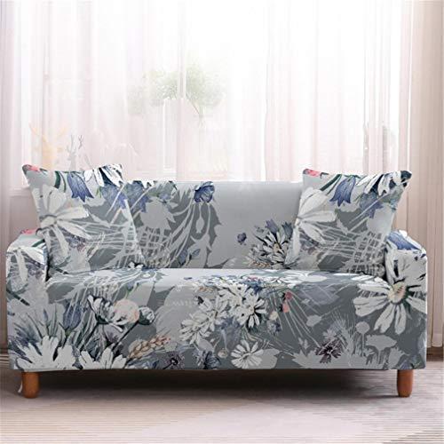 wjwzl Sofabezug für Chaiselongue, rutschfest, elastisch, Sesselbezug für Wohnzimmer, 19 N