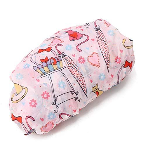 SALUTUYA Funda para Silla Infantil Easy Clean para bebé niño pequeño Azul Rosa(Pink)