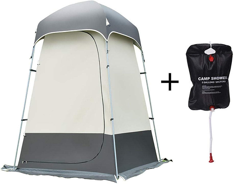 APENCHREN Outdoor Duschzelt Camping Umkleidezelt Privatsphre Umkleideraum Mobile Toilette Unterstand für Strand Reisen Schwimmpark Picknick,grau-B