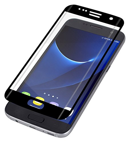 ZAGG InvisibleShield Curved Glass Screen Protector for Samsung Galaxy S7  Edge - Black