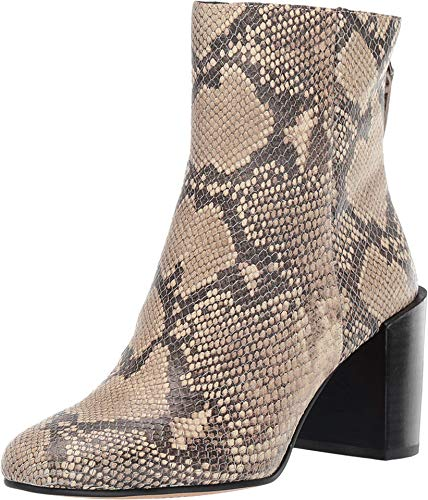 Dolce Vita Cyan Black/White Snake Print Leather 8.5