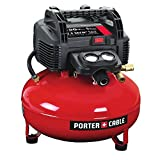 Product Image of the PORTER-CABLE Air Compressor, 6-Gallon, Pancake, Oil-Free (C2002)