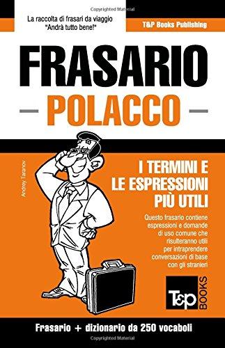 Frasario Italiano-Polacco e mini dizionario da 250 vocaboli