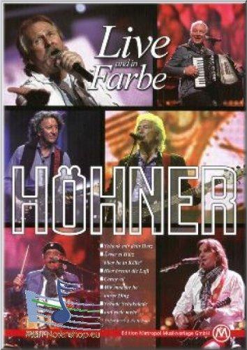 Höhner - Live en in kleur - Noten, Songbook piano, zang [muziek]