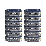 Angelcare Dress Up - Recambios octogales para basureros de pañal Dress Up/Essential (antiolores, gran capacidad, 12 unidades)