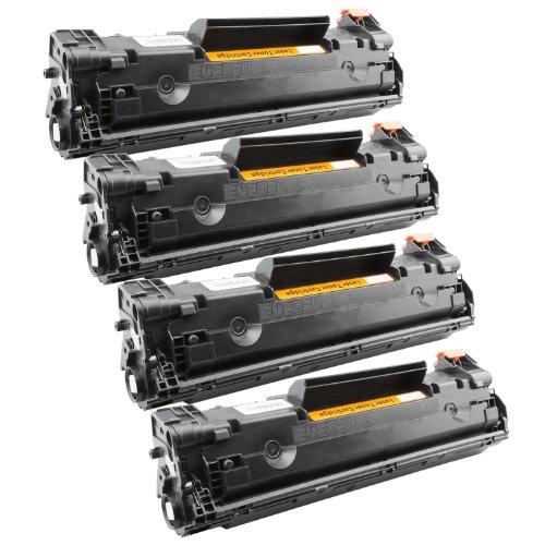 Tito-Express PlatinumSerie 4 Toner XXL Schwarz für Canon CRG-728 EP-728 I-Sensys MF4730 MF4880dw MF4890dw