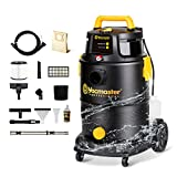 Vacmaster Wet Dry Shampoo Vacuum Cleaner 3 in 1 Portable Carpet Cleaner 8 Gallon...