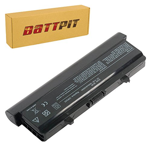 BattPit Laptop Battery for Dell Inspiron 1525 1526 1545 1546 PP29L M911G RN873 0XR682 GW240 GW241 GP952 X284G - 14.4/14.8V - High Performance [8-Cell/4400mAh/65Wh]