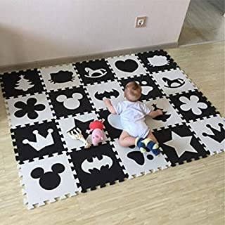 Baby Play Mat,10pcs /pack Baby And Children's Play Floor Mat Play Mat Baby, Baby Entertainment Play Mat For Baby for Bedro...