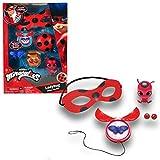 Bandai Miraculous Set de Transformation Ladybug-déguisement-Role Play, P50601, Rouge