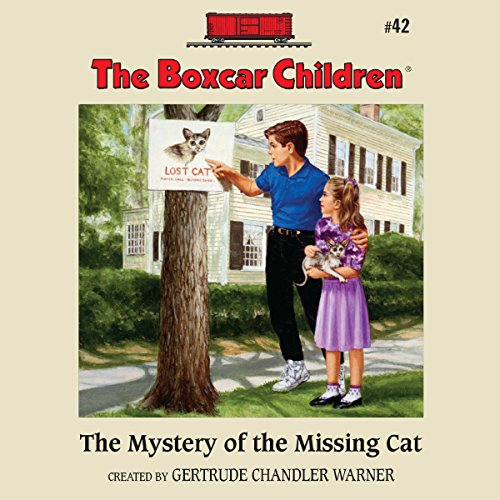 The Mystery of the Missing Cat audiobook cover art