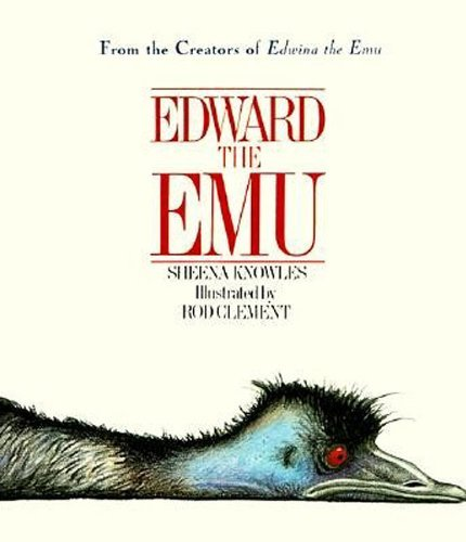 Edward the Emu by Sheena Knowles (4-Apr-1998) Hardcover