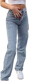 Hosen Hose Unterteile Retro Jahrgang Damen Aufflackern Elastisch Abend