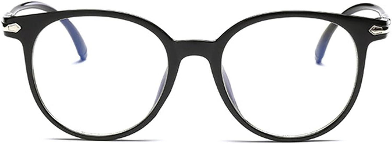 ICaptainAB Unisex Non Prescription Glasses and Fake Eyeglasses and Black Frame Clear Lenses Eyeglasses