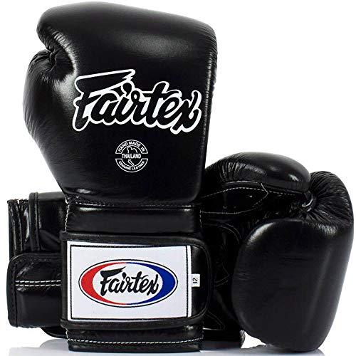 Fairtex Boxhandschuhe, BGV9, Mexican Style, schwarz Größe 14 Oz